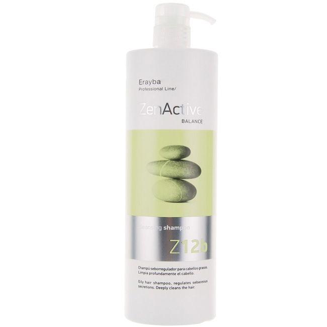 Шампунь против жирных волос Erayba Z12b Cleansing Shampoo 1000 мл