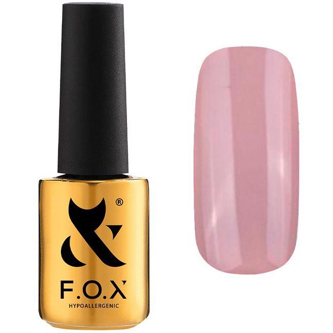 Гель-лак F.O.X Pigment Gel Polish №016 (лавандовый, эмаль) 7 мл