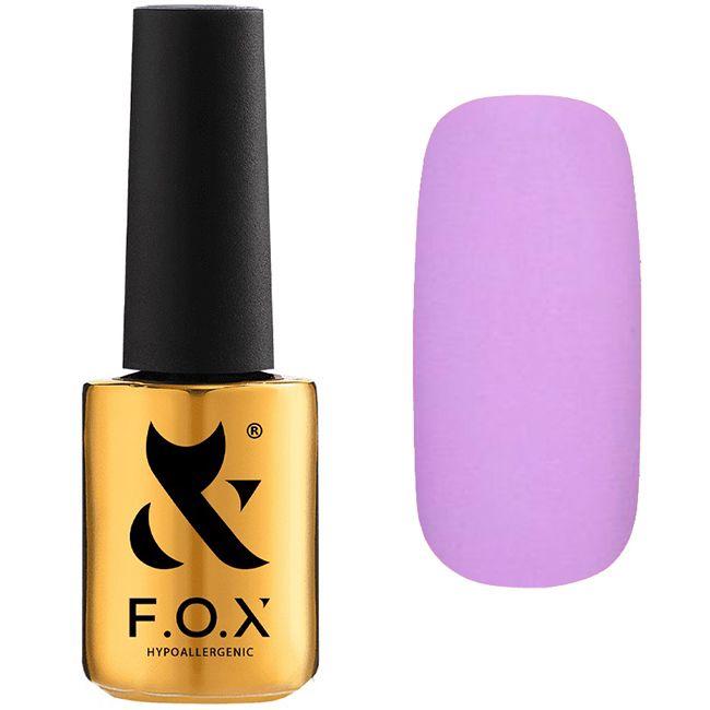 Гель-лак F.O.X Pigment №190 (лиловый, эмаль) 7 мл