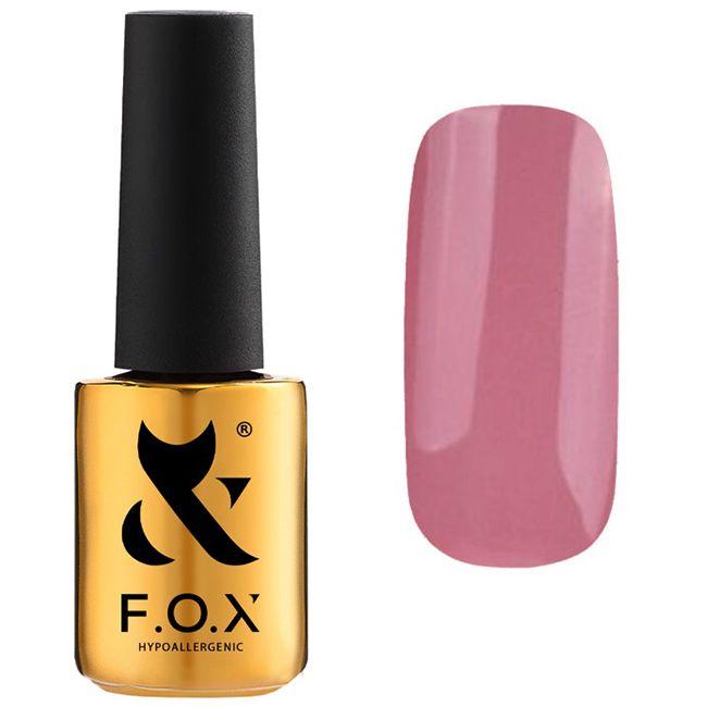 Гель-лак F.O.X Pigment Gel Polish №216 (розово-кофейный, эмаль) 7 мл