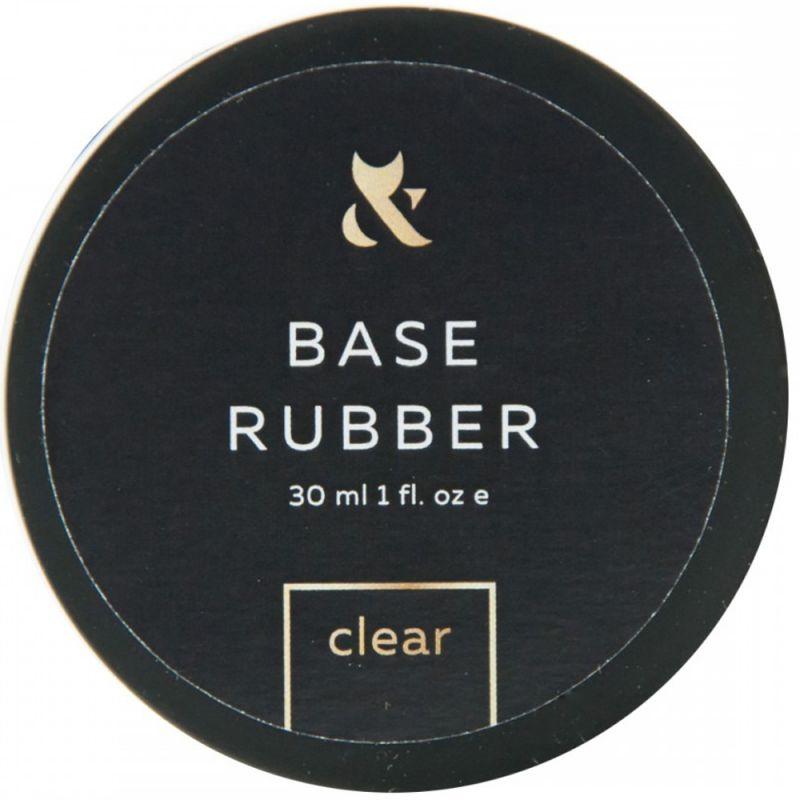 База для гель-лака каучуковая F.O.X Rubber Base (банка) 30 мл