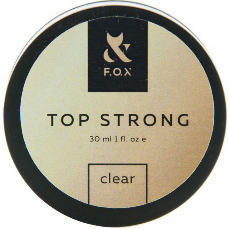 Топ для гель-лака F.O.X Top Strong (банка) 30 мл