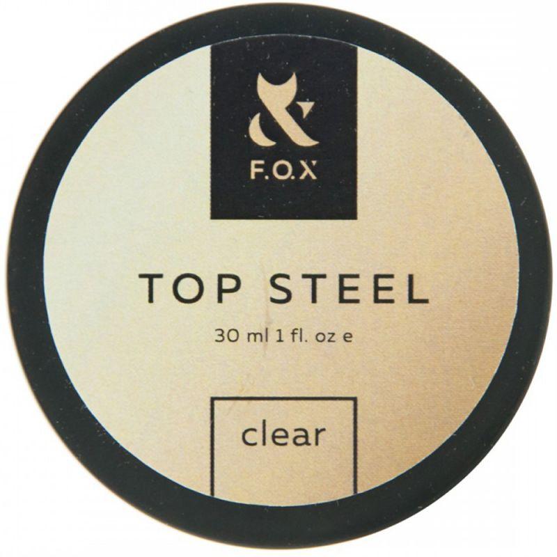 Топ для гель-лака F.O.X Top Steel (банка) 30 мл