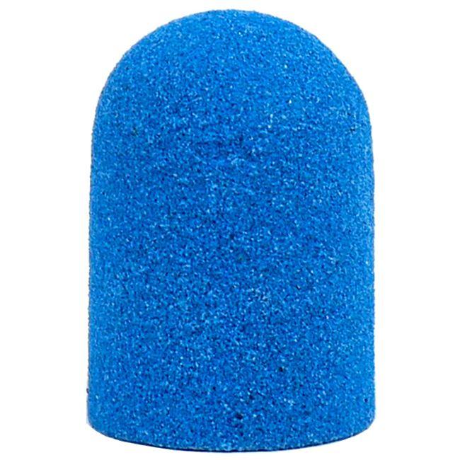 Колпачок абразивный (диаметр 10 мм, абразивность 160 грит, голубой) 10 штук
