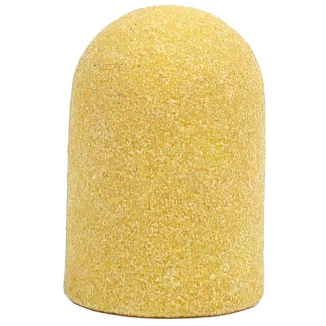 Колпачок абразивный (диаметр 13 мм, абразивность 240 грит, желтый) 10 штук