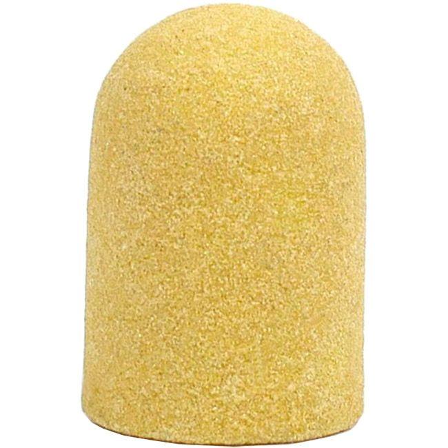 Колпачок абразивный (диаметр 7 мм, абразивность 240 грит, желтый) 10 штук