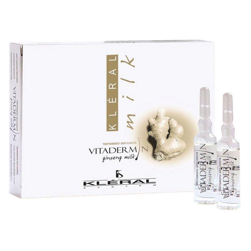 Ампула Kleral System Vitadermin Ginseng Milk против выпадения волос 1x8 мл