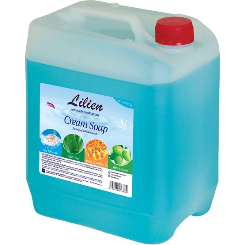 Мыло для рук Lilien Sea Minerals Cream Soap (морские минералы) 5000 мл