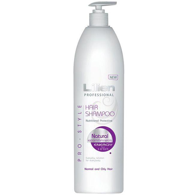 Шампунь для нормальных и жирных волос Lilien Professional Pro-Style 1000 мл