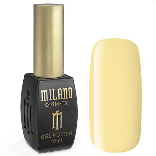 Гель-лак Milano №113 (светло-желтый, эмаль) 10 мл