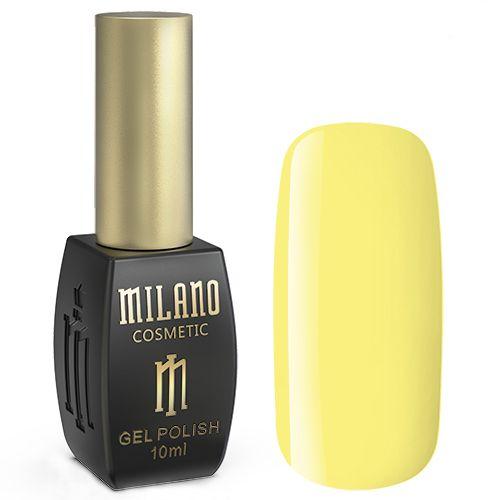 Гель-лак Milano №115 (лимонно-желтый, эмаль) 10 мл