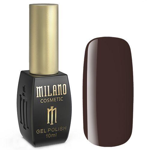 Гель-лак Milano №174 (темно-коричневый, эмаль) 10 мл