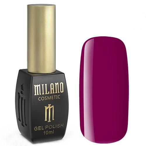 Гель-лак Milano №176 (темный малиново-красный, эмаль) 10 мл