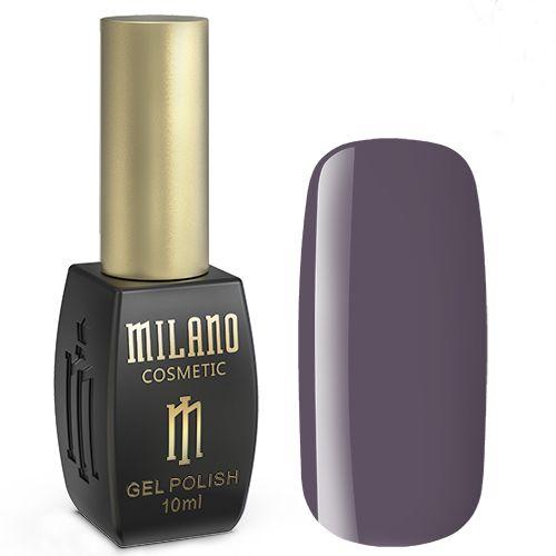 Гель-лак Milano №178 (пепельно-фиолетовый, эмаль) 10 мл