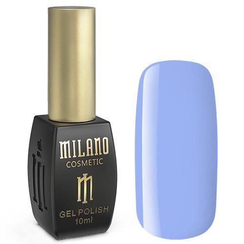 Гель-лак Milano №183 (нежно-голубой, эмаль) 10 мл