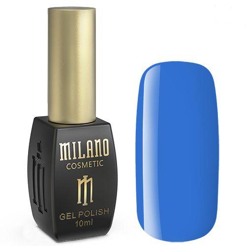 Гель-лак Milano №185 (лазурно-синий, эмаль) 10 мл