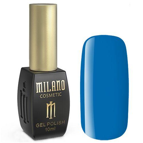 Гель-лак Milano №186 (пыльно-синий, эмаль) 10 мл