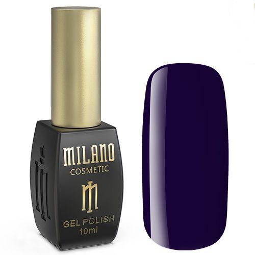 Гель-лак Milano №191 (темный фиолето-синий, эмаль) 10 мл