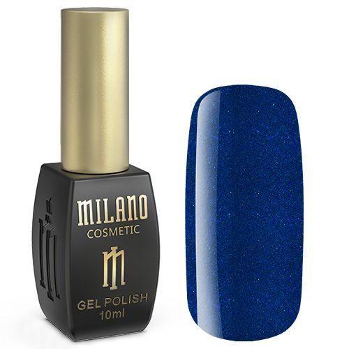 Гель-лак Milano №193 (темно-синий с блестками) 10 мл