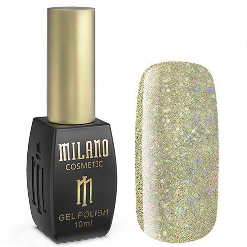 Гель-лак Milano №200 (песочный с блестками) 10 мл