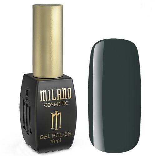 Гель-лак Milano №215 (дымчато-темно-зеленый, эмаль) 10 мл