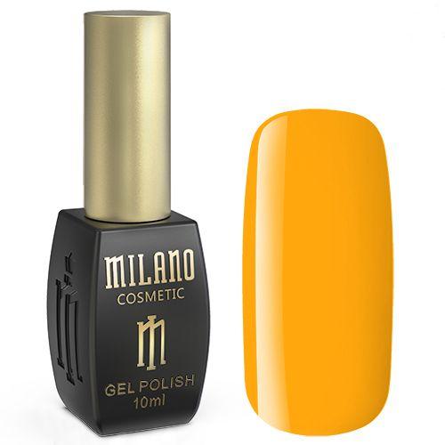 Гель-лак Milano №219 (желто-оранжевый, эмаль) 10 мл