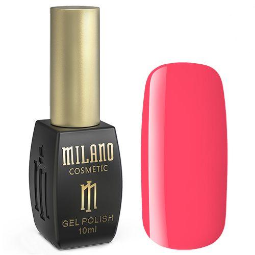 Гель-лак Milano №228 (ярко-лилово-розовый, эмаль) 10 мл