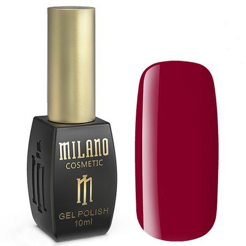 Гель-лак Milano №239 (насыщенный красный, эмаль) 10 мл