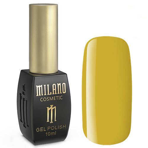 Гель-лак Milano №243 (солнечно-желтый, эмаль) 10 мл