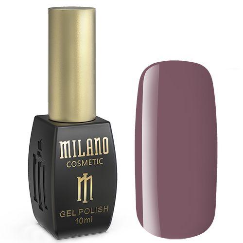 Гель-лак Milano №252 (розово-коричневый, эмаль) 10 мл