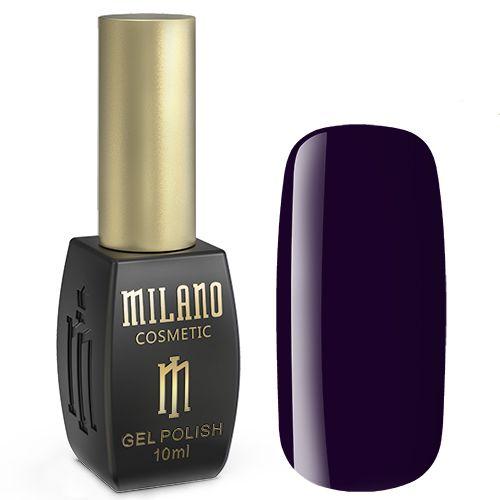 Гель-лак Milano №261 (темно-фиолетовый, эмаль) 10 мл