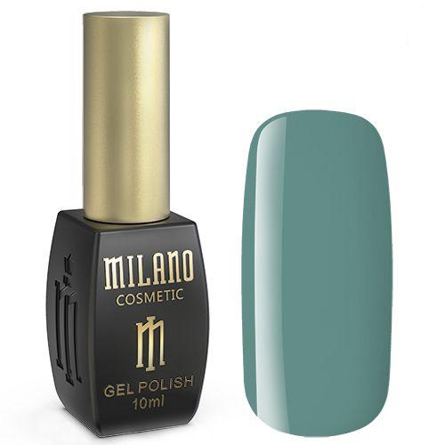 Гель-лак Milano №270 (бирюзово-зеленый, эмаль) 10 мл