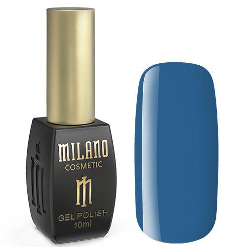 Гель-лак Milano №272 (лазурно-синий, эмаль) 10 мл