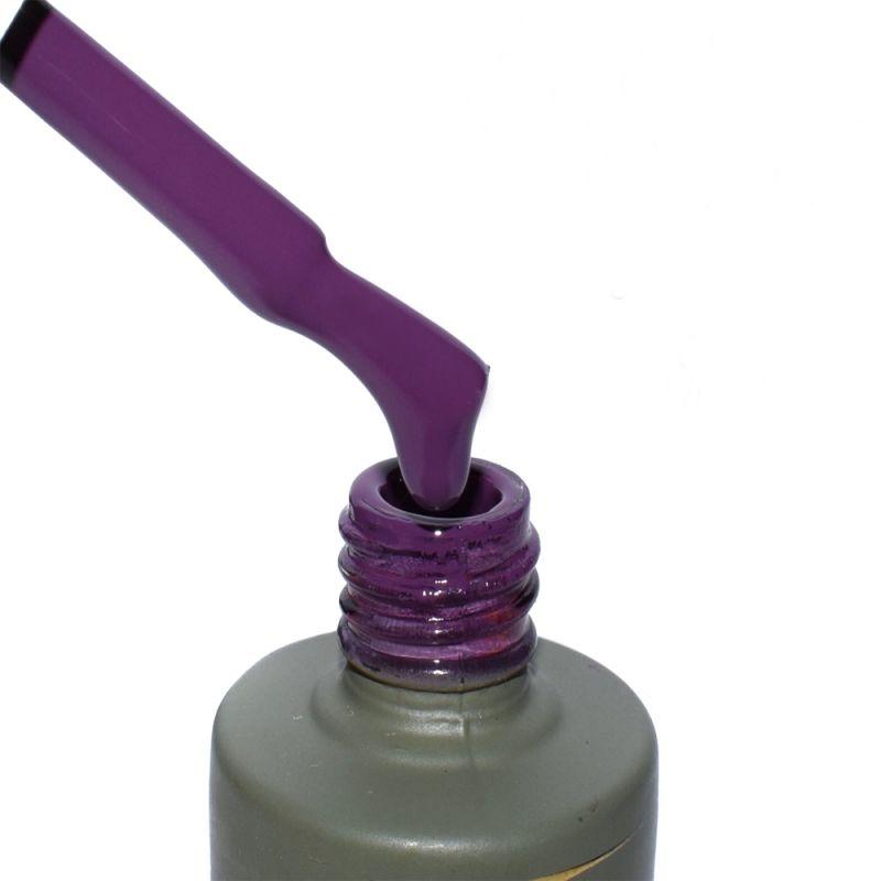 Гель-лак Milano Luxury №083 (фиолетово-вишневый, эмаль) 15 мл
