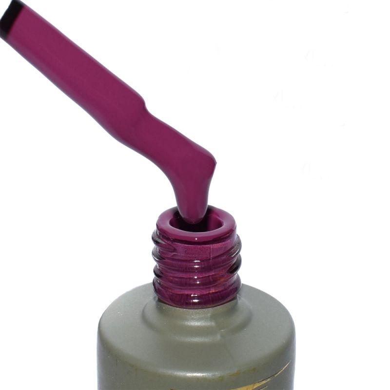 Гель-лак Milano Luxury №084 (фиолетово-малиновый, эмаль) 15 мл