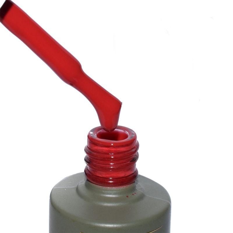 Гель-лак Milano Luxury №130 (красный, эмаль) 15 мл