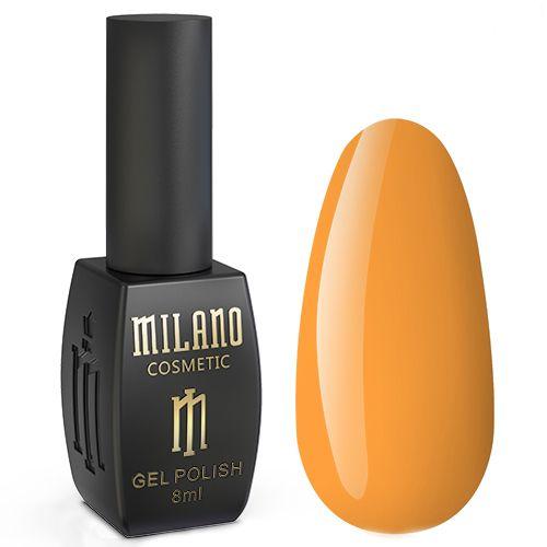 Гель-лак Milano Neon №006 (оранжево-желтый, эмаль) 8 мл