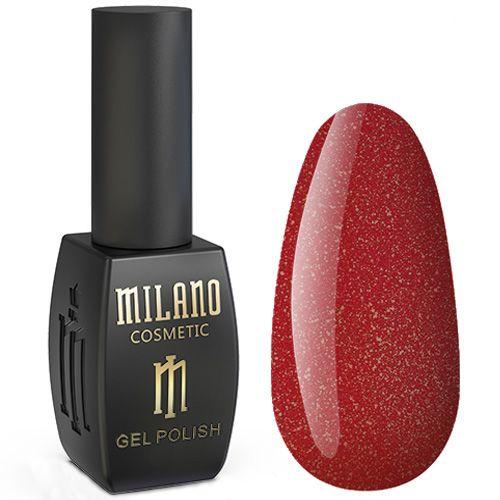 Гель-лак Milano Jasper №013 (темно-красный с микроблеском) 10 мл