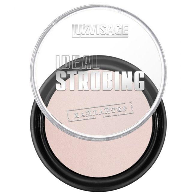 Хайлайтер компактный Luxvisage Ideal Strobing  №11 (розовый жемчуг) 9 г
