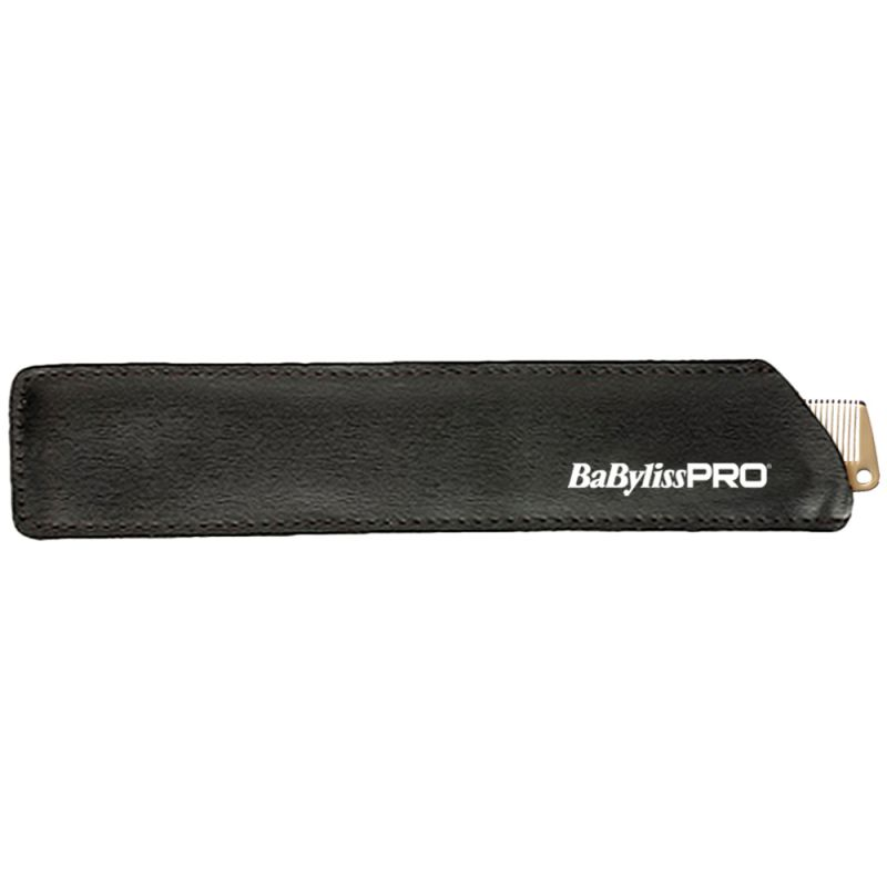 Расческа для стрижки BaByliss PRO M3842E Gold Metal Comb