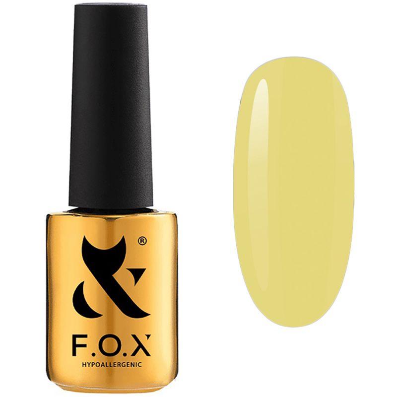 Гель-лак F.O.X Gel Polish Masha Efrosinina №011 (желтый, эмаль) 7 мл