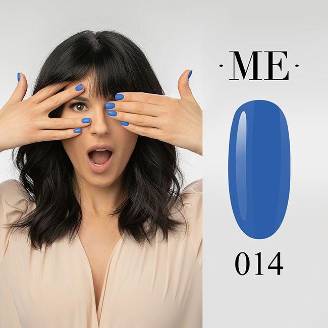 Гель-лак F.O.X Masha Efrosinina №014 (синий, эмаль) 5 мл