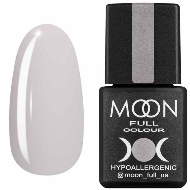 Гель-лак Moon Full Air Nude №03 (молочно-бежевый полупрозрачный, эмаль) 8 мл
