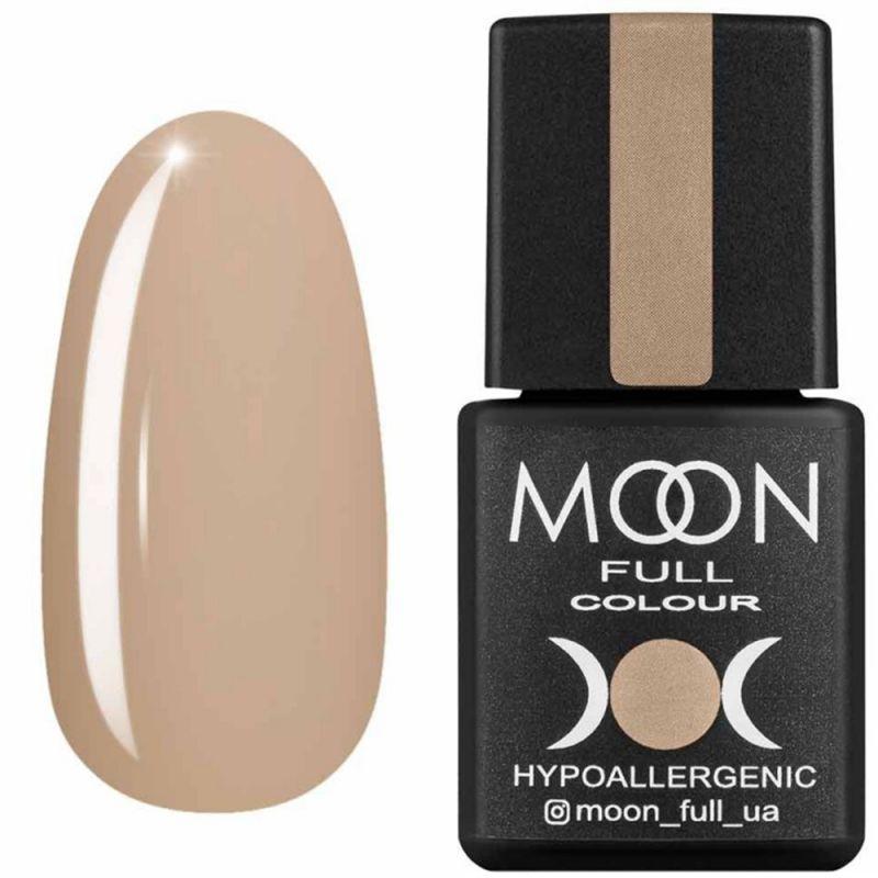 Гель-лак Moon Full Air Nude №04 (светло-бежевый, эмаль) 8 мл