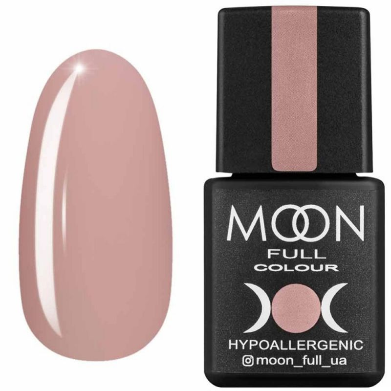 Гель-лак Moon Full Air Nude №05 (бежево-розовый, эмаль) 8 мл