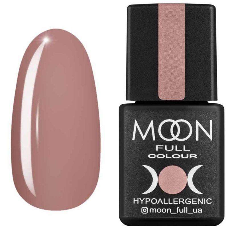 Гель-лак Moon Full Air Nude №07 (темно-бежевый, эмаль) 8 мл