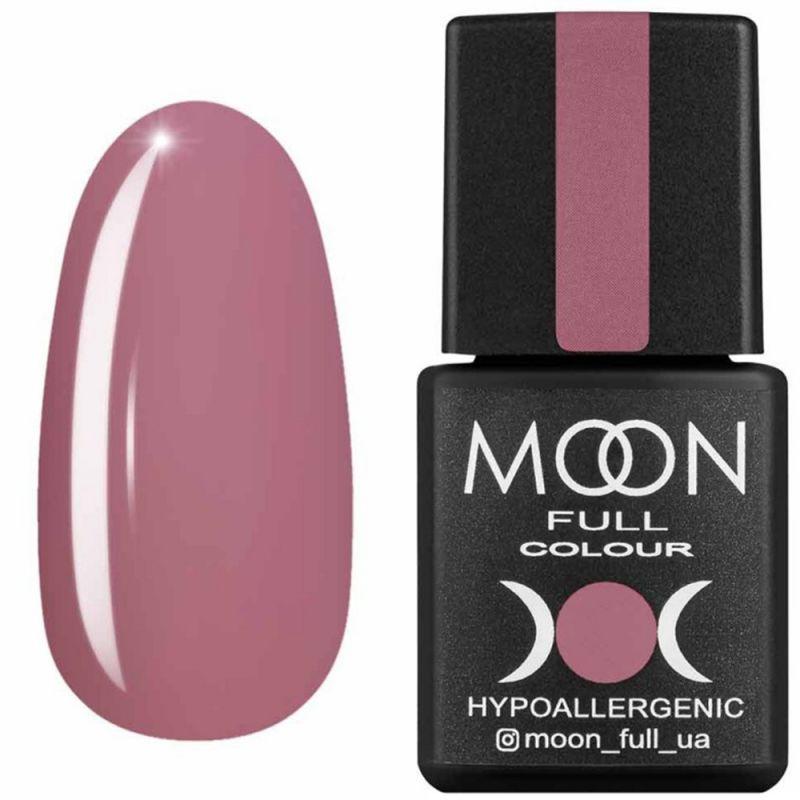 Гель-лак Moon Full Air Nude №08 (бежево-розовый темный, эмаль) 8 мл