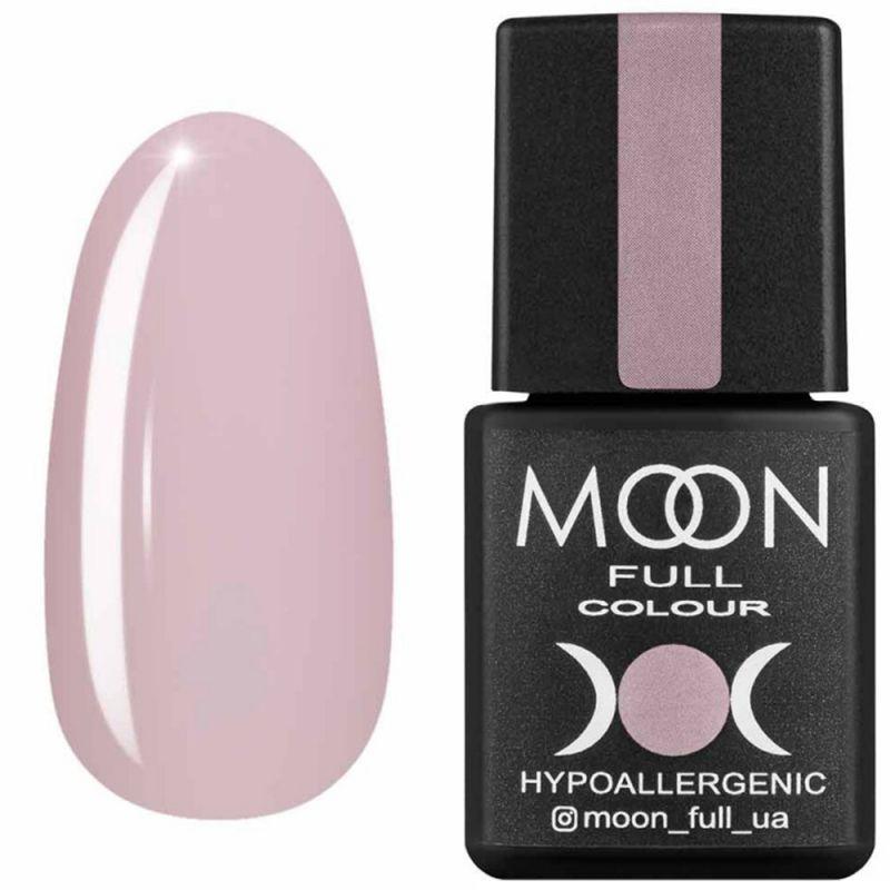 Гель-лак Moon Full Air Nude №16 (розово-персиковый, эмаль) 8 мл