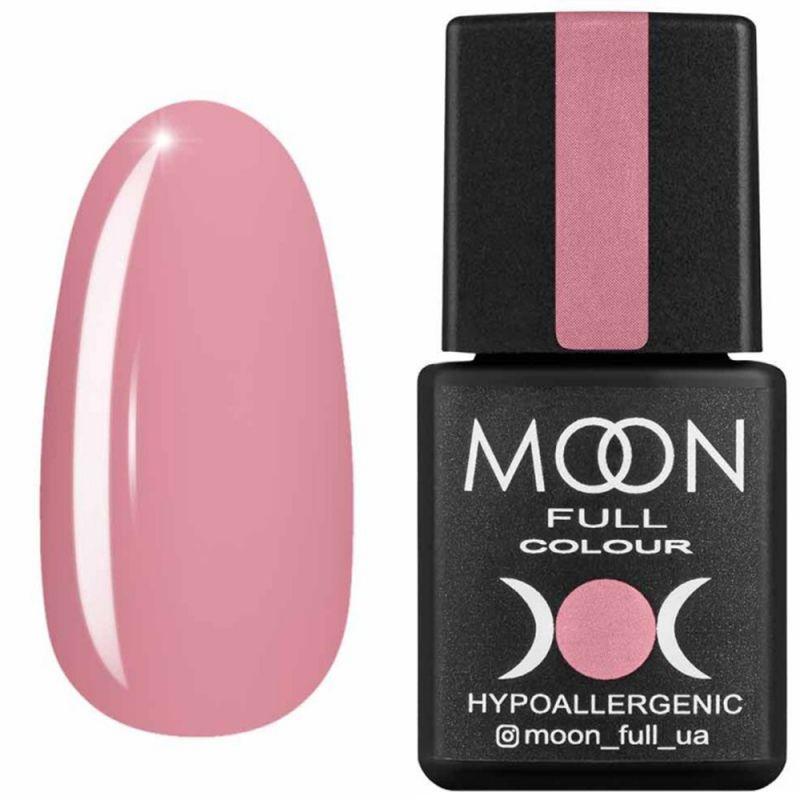Гель-лак Moon Full Air Nude №17 (винтажный светло-розовый, эмаль) 8 мл