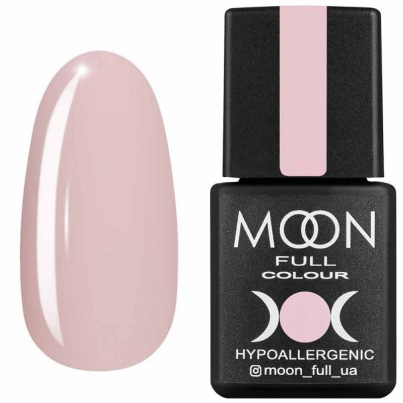 Гель-лак Moon Full Air Nude №19 (нежный персиковый, эмаль) 8 мл